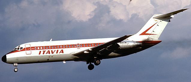 El vuelo 807 de ITAVIA