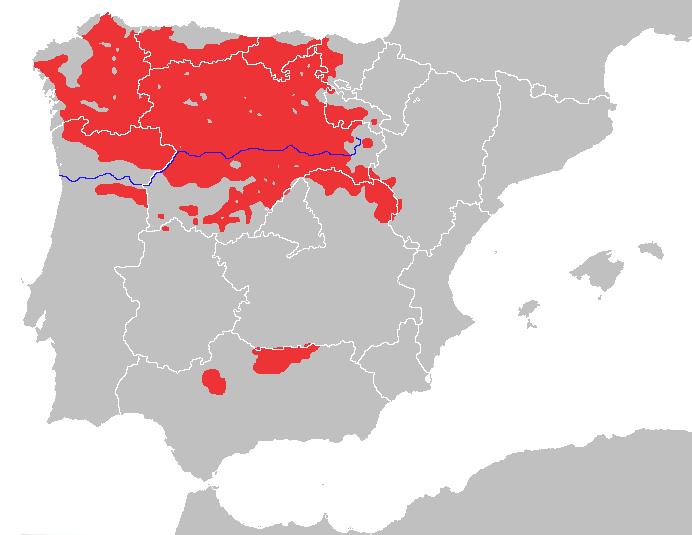 habitat lobo iberico