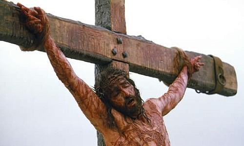 """Fotograma de """"La pasión de Cristo"""". Cricifixión"""