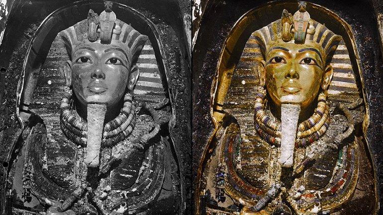 mascara tutankamon color