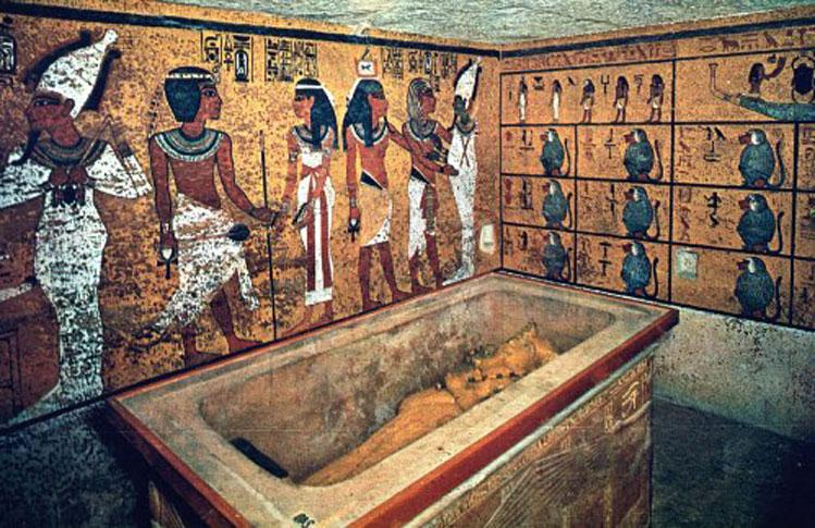 Resultado de imagen de tumba tutankamón