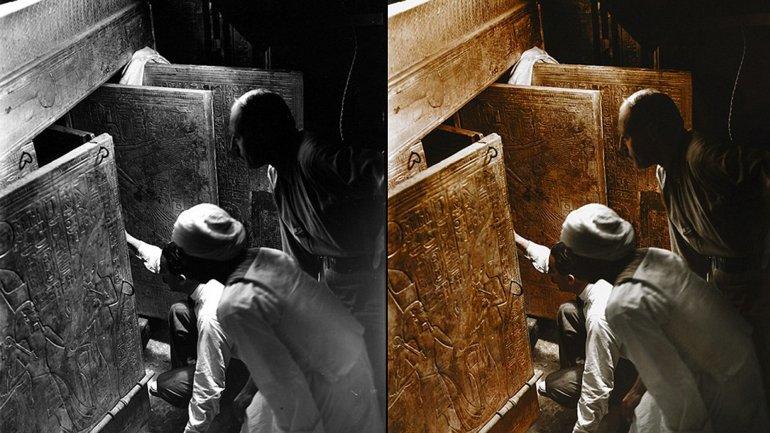 tutankamon color