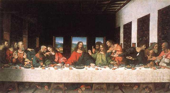 Última Cena de Lenoardo Da Vinci
