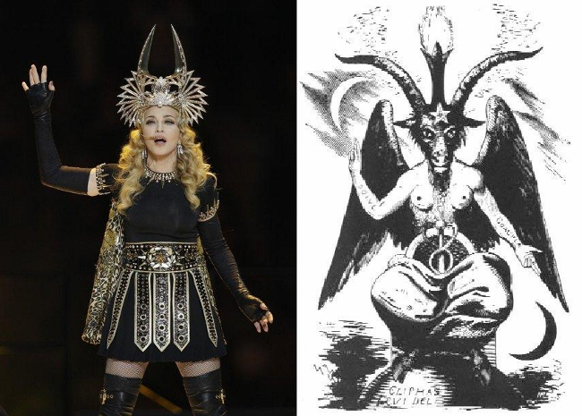 Madonna satanica