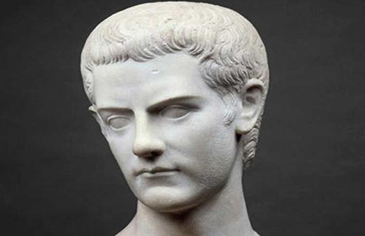 Busto de Calígula.