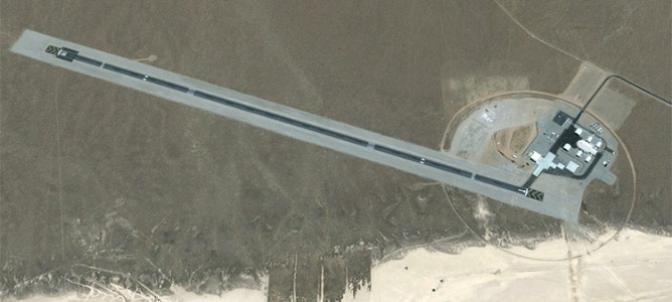 Área 6 fotografiada desde Google Earth.