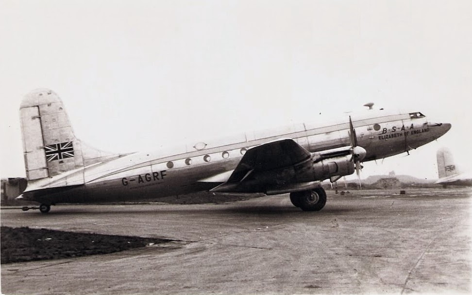 Avro TudorIV-BSAA- Star Ariel