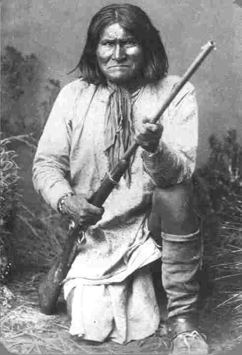 Jefe indio Gerónimo.