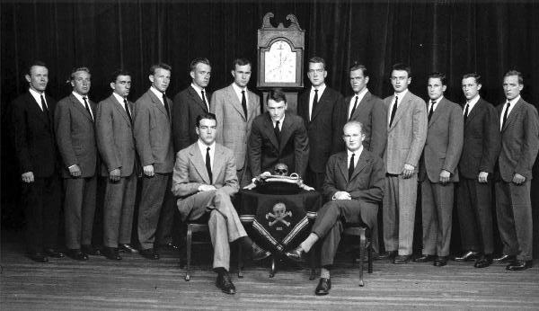 Miembros de Skull and Bones.